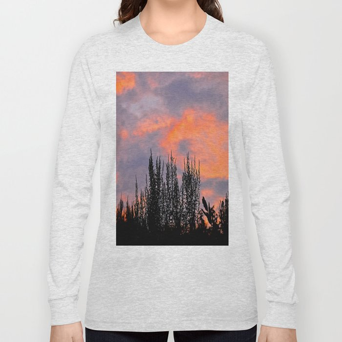 Sunset Silhouettes Long Sleeve T-shirt
