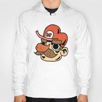 super mario Hoodies featuring Super Mario by Deoz World