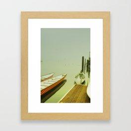 Morro Bay Morning Framed Art Print