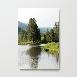 Breckenridge Lakeside 2 Metal Print