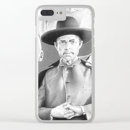 White Zombie Clear iPhone Case