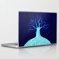 frozen Laptop & iPad Skins featuring Frozen by Nancy Woland