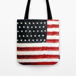 USA Flag ~ American Flag ~ Ginkelmier Inspired Tote Bag