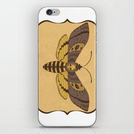 Death's Head Moth  iPhone Skin
