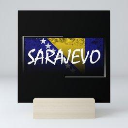 Bosnia and Herzegovina Mini Art Print