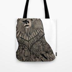 Beary Hairy Tote Bag
