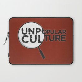 """""""Looking for Answers"""" Unpopular Culture Laptop Sleeve"""