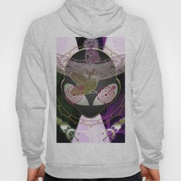 Diamond Fire Alien and the Isis Crop Circles Hoody