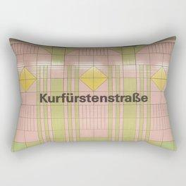 Berlin U-Bahn Memories - Kurfürstenstraße Rectangular Pillow