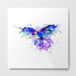 Super Parrot Metal Print