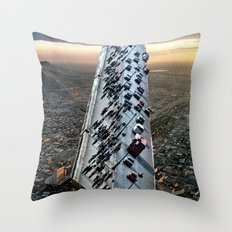 Mile 604 Throw Pillow