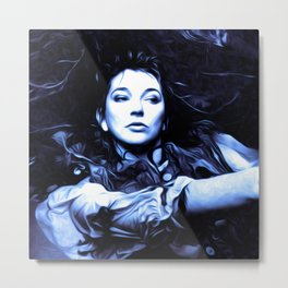 Kate Bush - The Ninth Wave - Pop Art Metal Print