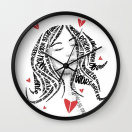 The lover Wall Clock