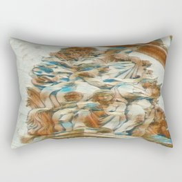 Sculpture - Paris France - Arc de Triomphe Rectangular Pillow