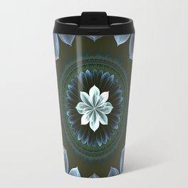 Blossom Within in White Travel Mug