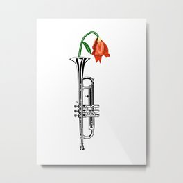 Trumpeting Beauty Metal Print