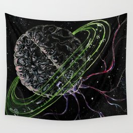 Brain of Saturn Wall Tapestry