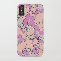 Cartografía de Orquídea  iPhone X Slim Case