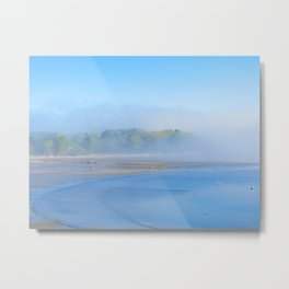 """""""Waiting for the Ferry"""" Metal Print"""