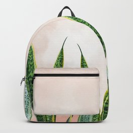 Dreaming candy cotton with green Backpack