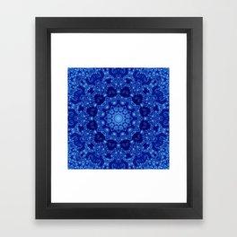 Ocean of Light Mandala Framed Art Print