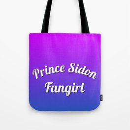 Prince Sidon Fangirl - Pink/Purple/Blue Gradient Tote Bag