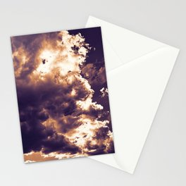 cloudy sky 2 ls Stationery Cards