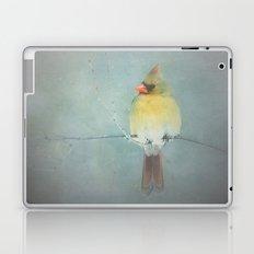 FEMALE NORTHERN CARDINAL  Laptop & iPad Skin