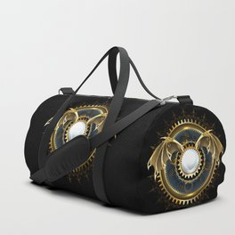 Mechanical Dragon Wings with a Lens ( Steampunk ) Duffle Bag