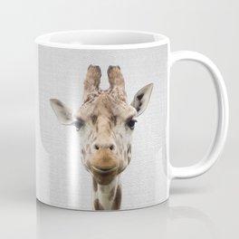 Giraffe - Colorful Coffee Mug