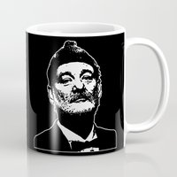 bill murray Mugs featuring Bill Murray Special Edition  by Spyck