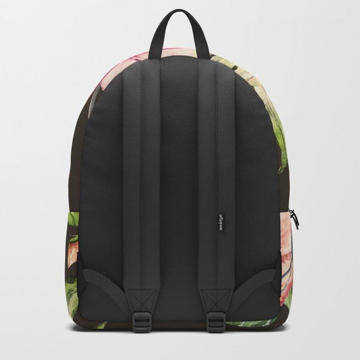 Tropical Bird Pattern 09 Backpack