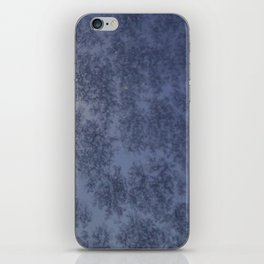 Moon through a Frosty Window iPhone Skin