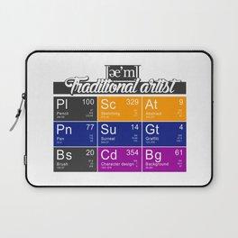 ae'm Traditional Artist Laptop Sleeve
