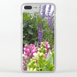 Country Garden Clear iPhone Case