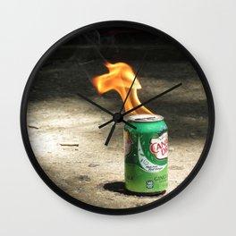 Pyro Wall Clock