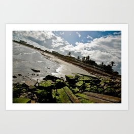 View from the Fort Pierce Jetty Art Print