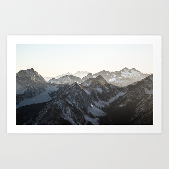 Mountains in Winter by limitlessdesign