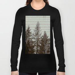 Three pine trees Long Sleeve T-shirt