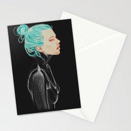 Dark feelings Stationery Cards