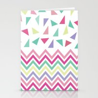 confetti Stationery Cards featuring Confetti  by Bree Madden
