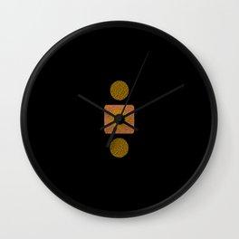 Gold & copper Wall Clock