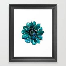 Saori's bloom Framed Art Print