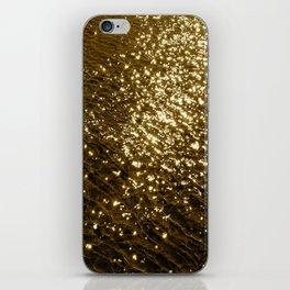 Golden Tide iPhone Skin