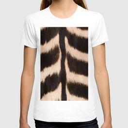 Zebra - zebra stripes -zebra skin - genuine - beautiful - #society6 #buyart T-shirt
