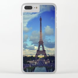 Paris Je T'Aime Clear iPhone Case