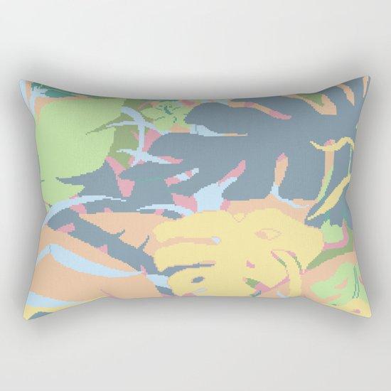 Jungle Flora 2 Rectangular Pillow
