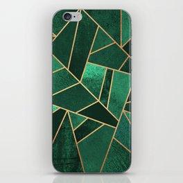 Emerald and Copper iPhone Skin