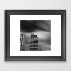 Architecture Long Exposure Framed Art Print