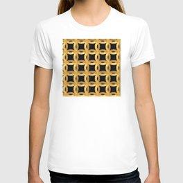 Art Deco-Like Pattern: 24-Karat Color Lucky Gold Chips T-shirt